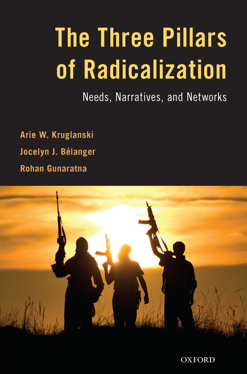 Image of book cover of Three Pillars of Radicalization