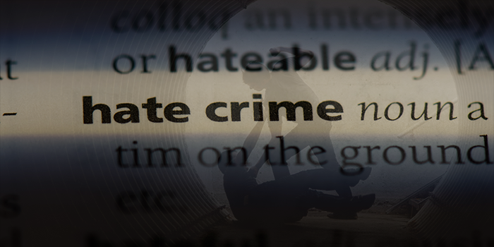 Hate crime definitional image